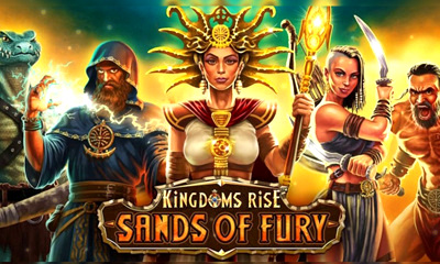 Top Slot Game of the Month: Kingdoms Rise Sands of Fury Slot