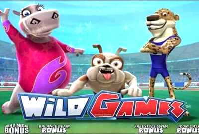 Wild Games Slot Logo