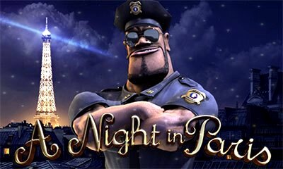 A Night in Paris Slot Logo