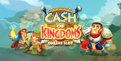 Cash of Kingdoms Online Slot Machine Logo 590x