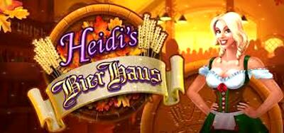 Top Slot Game of the Month: Heidi's Bier Haus Slot