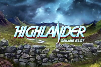 Top Slot Game of the Month: Microgaming Highlander Slot Logo 400x