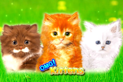 Top Slot Game of the Month: Omg Kittens Logo