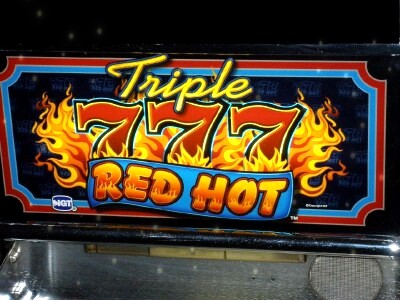 Triple 777 Red Hot Slot