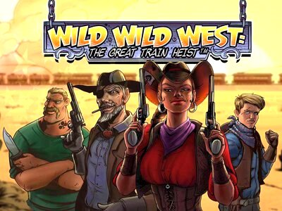 Top Slot Game of the Month: Wild Wild West the Great Train Heist Slot