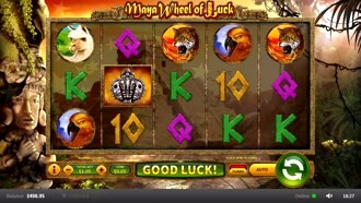 Maya Wheel of Luck Slot