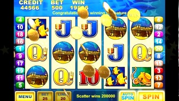 Dolphin Treasure Casino Slots