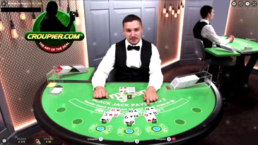 Live Dealer Online Blackjack