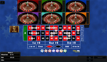 Multi Wheel Roulette Free Play