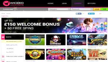Wicked Jackpots Casino Bonus Codes