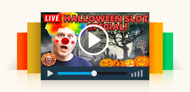 Finally! Live Halloween Slot Special!