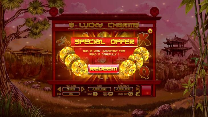 8 Lucky Charms Slot