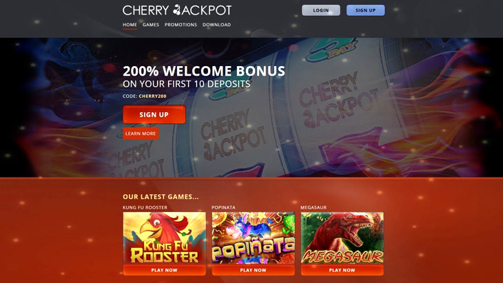 Cherry Jackpot Casino Review