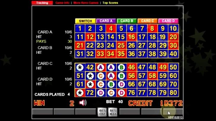 Hexagon Keno Winning Numbers