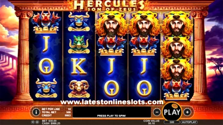 New Slot Hercules: Son Of Zeus