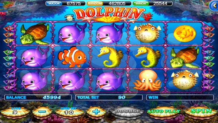 Ocean Life Slot Machine