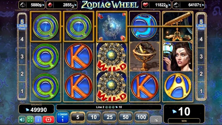 Play Zodiac Wheel