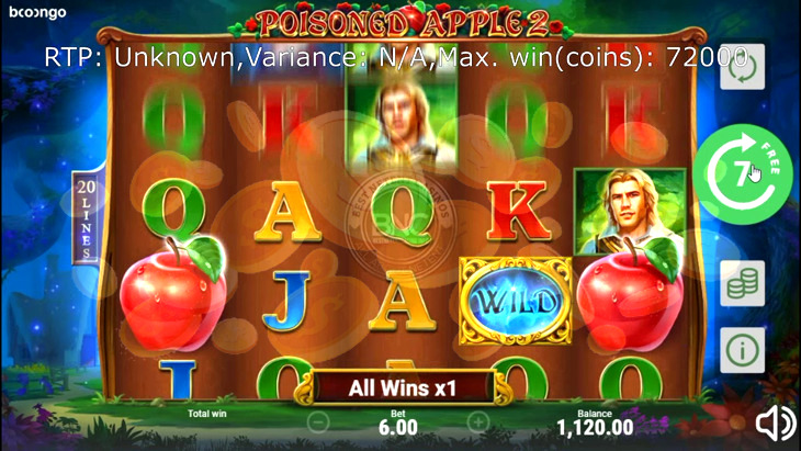 Poisoned Apple Slot Machine